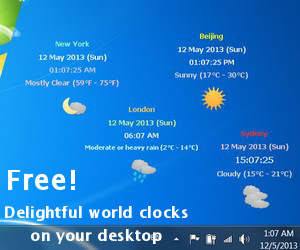 Free world time clock
