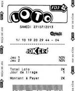 Lotto winner for France Loto