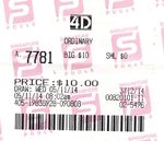 Lottery winner for Singapore 4D