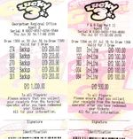 Lottery winner for Guyana Lucky 3