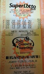 Ganhador da loteria do California SuperLotto Plus