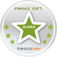 Awarded with the Famous Software Award by FamousWhy.com
