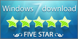 Puntuado con 5 estrellas por parte de Windows7Download
