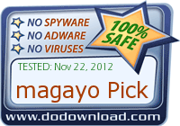 Anti-virus report from DoDownload