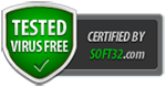 Tested virus free by Soft32.com